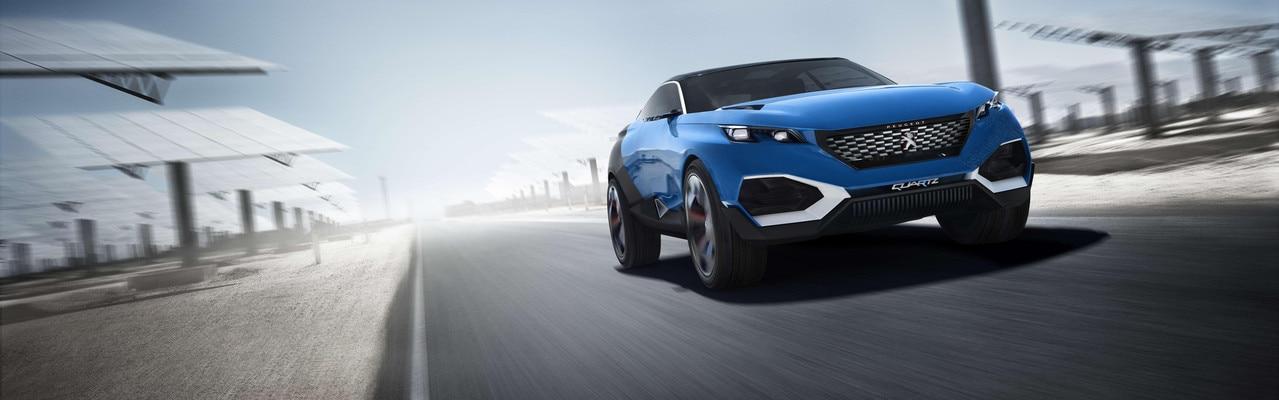 Peugeot Quartz -Le modèle possède trois mode de conduite pour une performance optimale