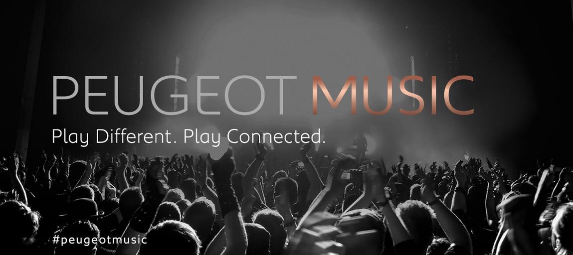 peugeot music concert